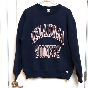 Russell Athletic  Oklahoma Sooners Sweatshirt Sz L